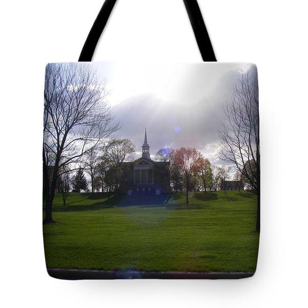 Seminary Ridge Tote Bag by Adam Cornelison