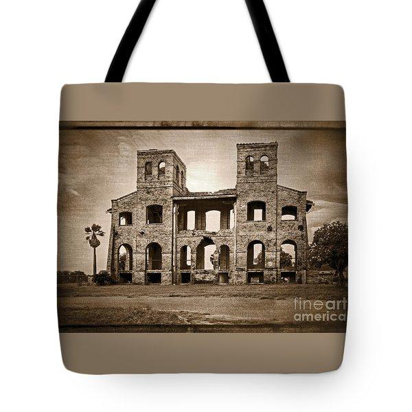 Seminary Ruins Tote Bag