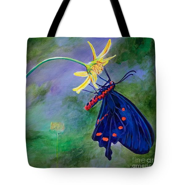 Semperi Swallowtail Butterfly Tote Bag