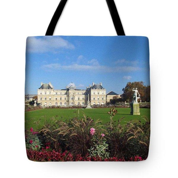 Senate From Jardin Du Luxembourg Tote Bag