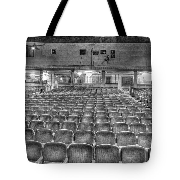 Senate Theatre Seating Detroit Mi Tote Bag