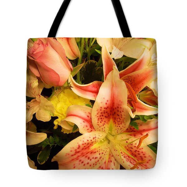 Send Me A Bouquet Tote Bag