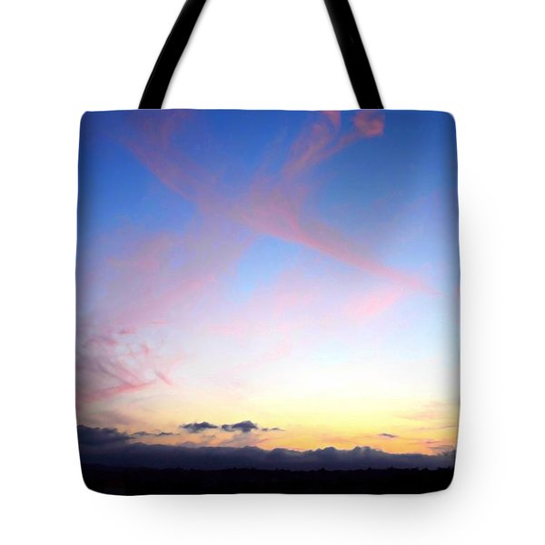 Send Out Your Light Tote Bag