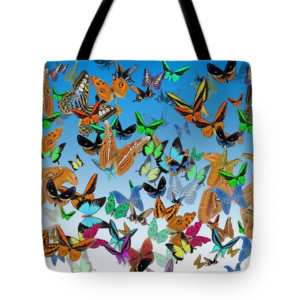 Sending Happy Wishes Tote Bag