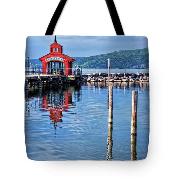 Seneca Lake Harbor Tote Bag
