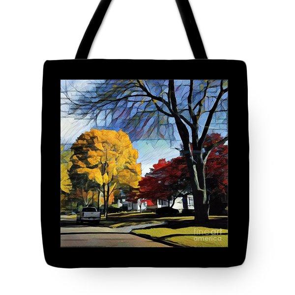 Seneca Parkway Autumn Tote Bag
