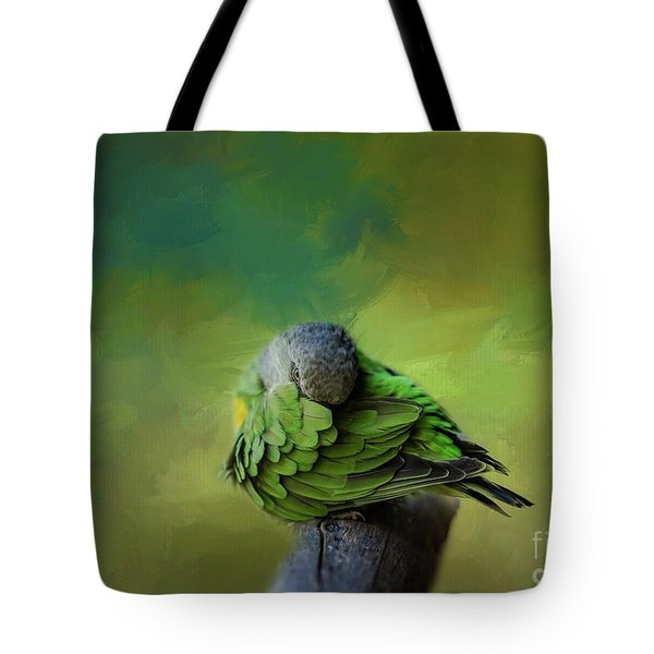 Senegal Parrot Tote Bag