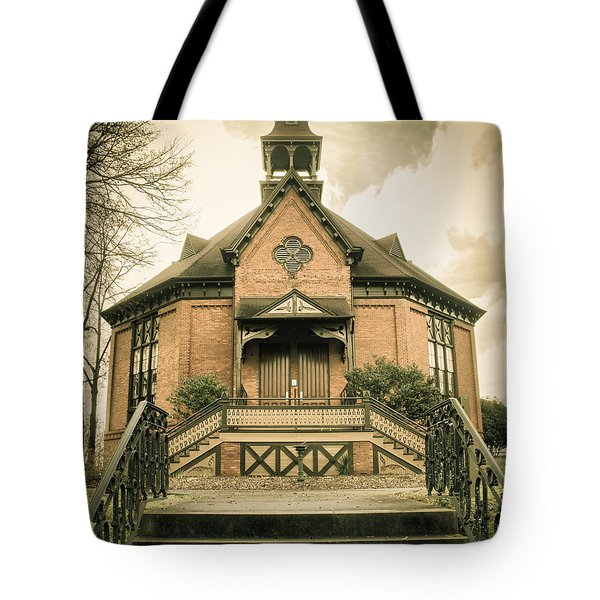 Tote Bag featuring the photograph Seney-stovall Chapel by Lynne Jenkins