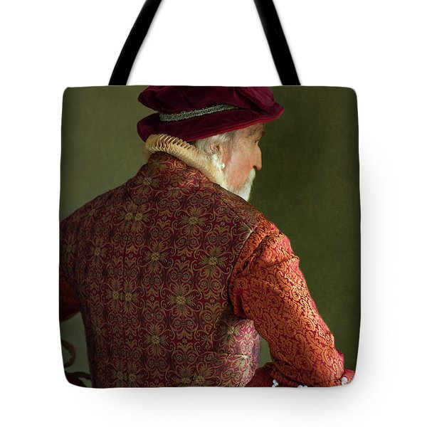 Senior Tudor Man Tote Bag