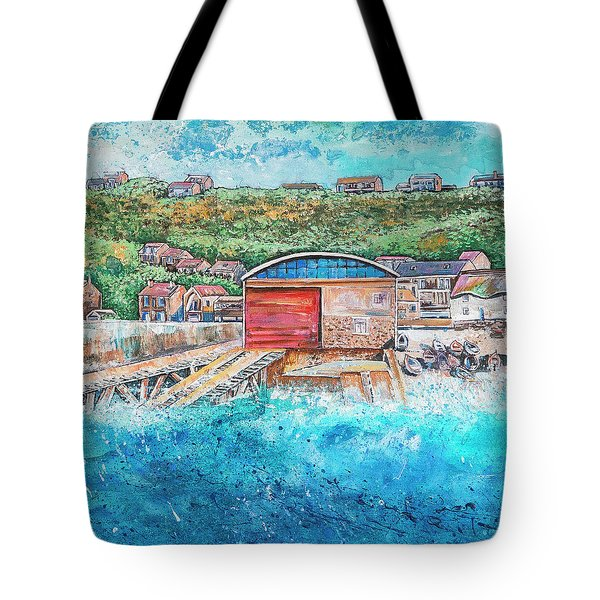 Sennen Cove Tote Bag by Diane Griffiths