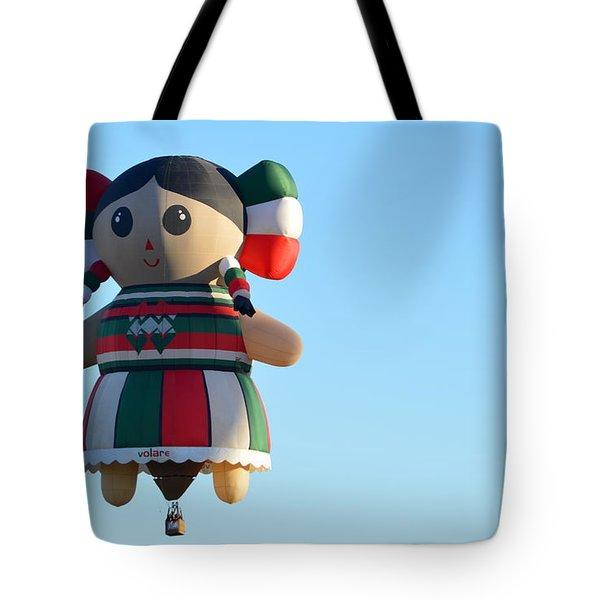 Tote Bag featuring the photograph Senorita by AJ Schibig
