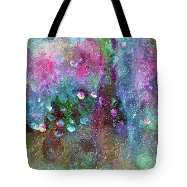 Sensations II  Tote Bag by Don Wright