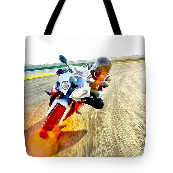 Sense Of Speed Tote Bag by Maciek Froncisz