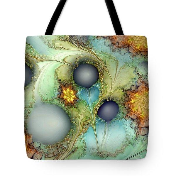Sensorial Intervention Tote Bag by Casey Kotas