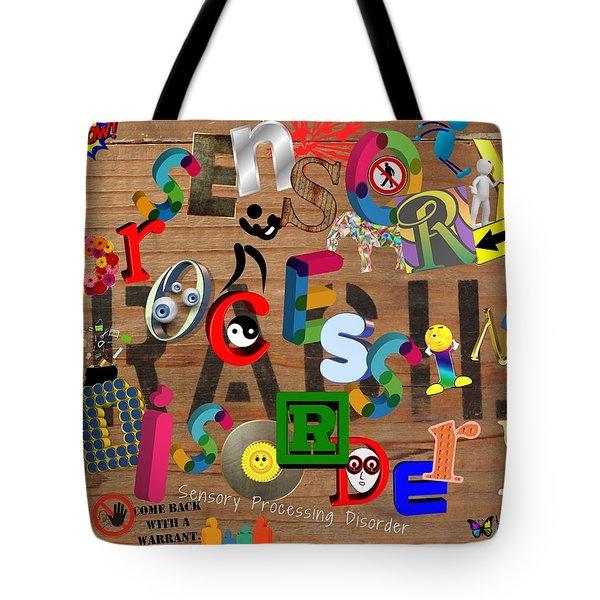 Sensory Processing Disorder Tote Bag