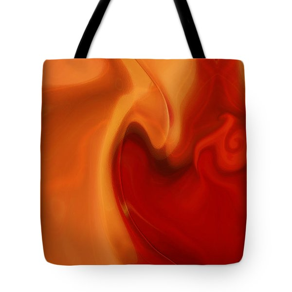 Sensual Love Tote Bag by Linda Sannuti