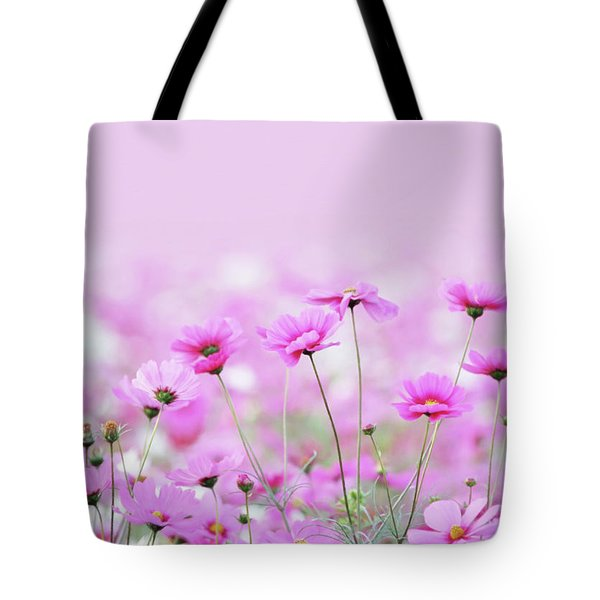 Tote Bag featuring the digital art Sensual Spring Meadow by Isabella Howard