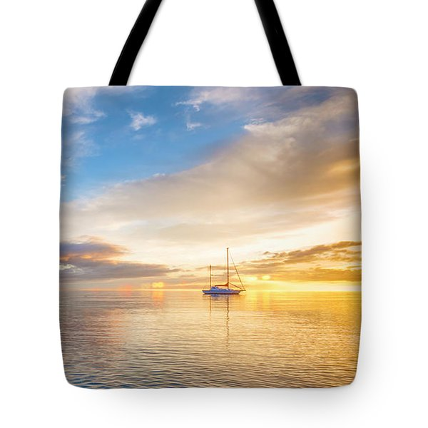 Sensual Sunrise Tote Bag