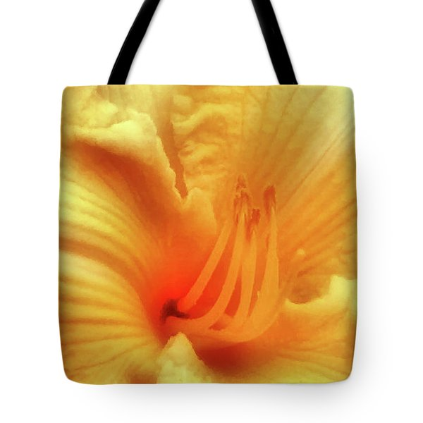 Sensuous Lily Tote Bag by Kristin Elmquist