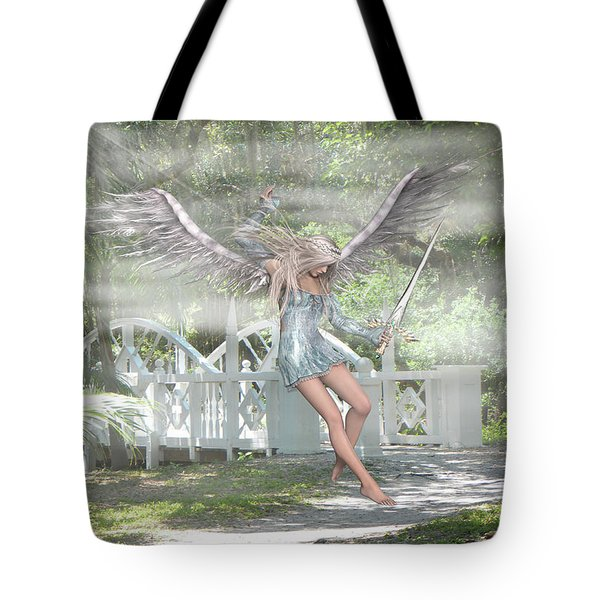 Sent From Heaven Tote Bag by Rosalie Scanlon