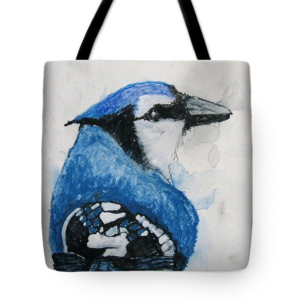 Sentimental Blue Tote Bag by Patricia Arroyo