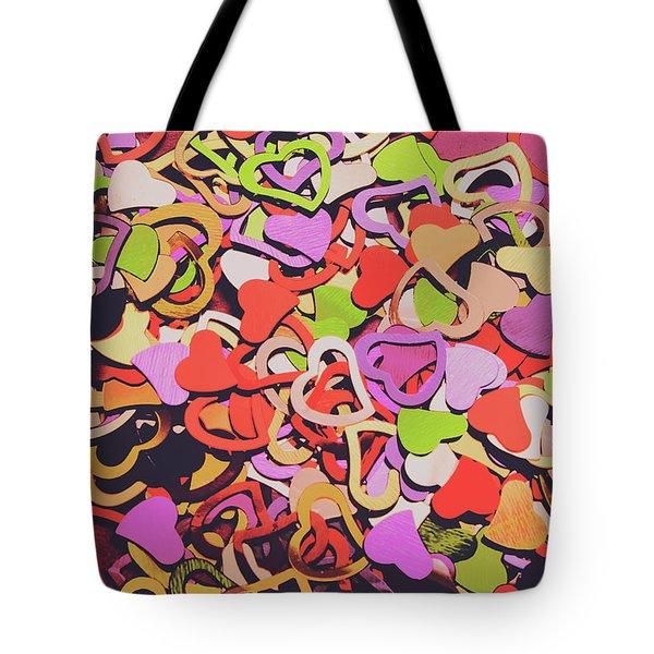 Sentimental Heart  Tote Bag