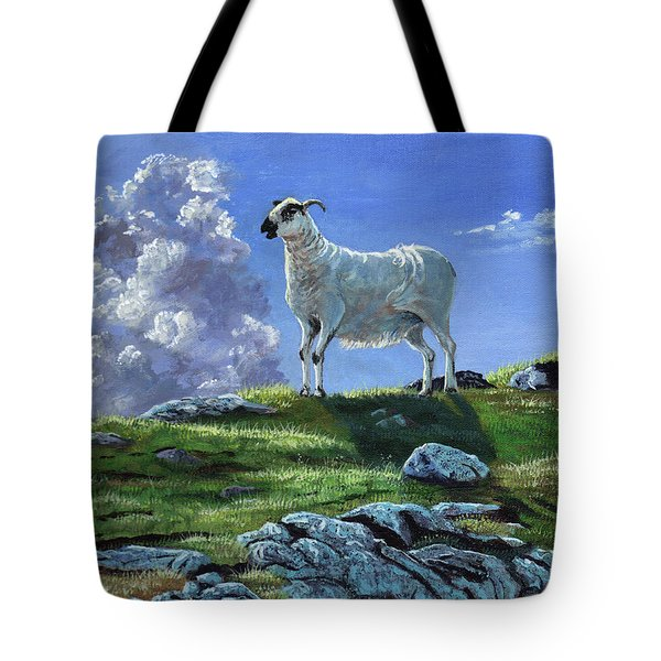 Sentinal Of The Highlands Tote Bag