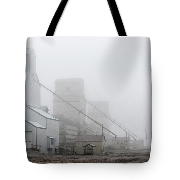 Sentinels In The Fog Tote Bag