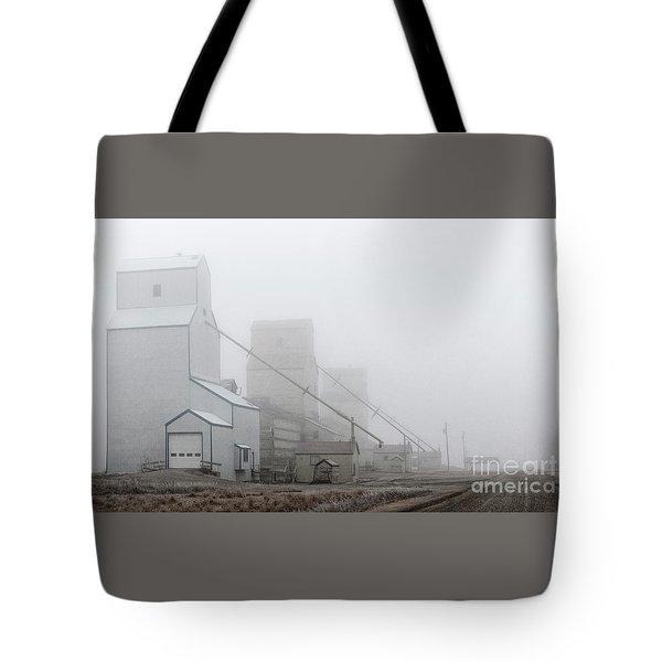Sentinels In The Fog Tote Bag