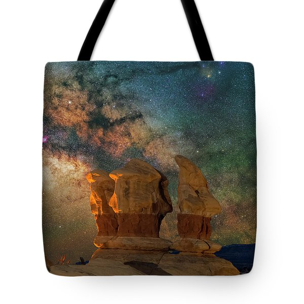 Sentinels Of The Night Tote Bag