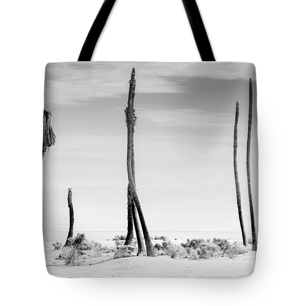 Sentinels Of The Salton Sea Tote Bag