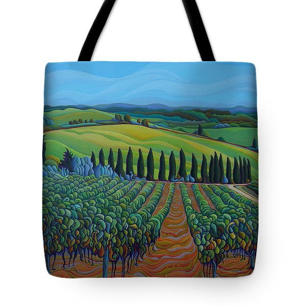 Sentrees Of The Grapes Tote Bag