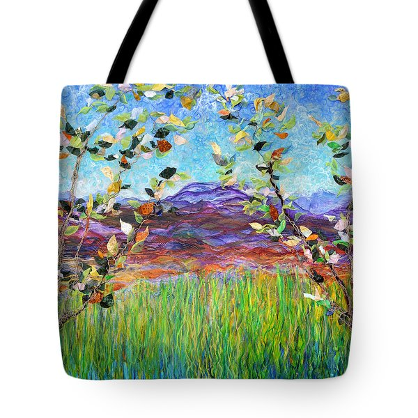 Sentries Diptych Tote Bag