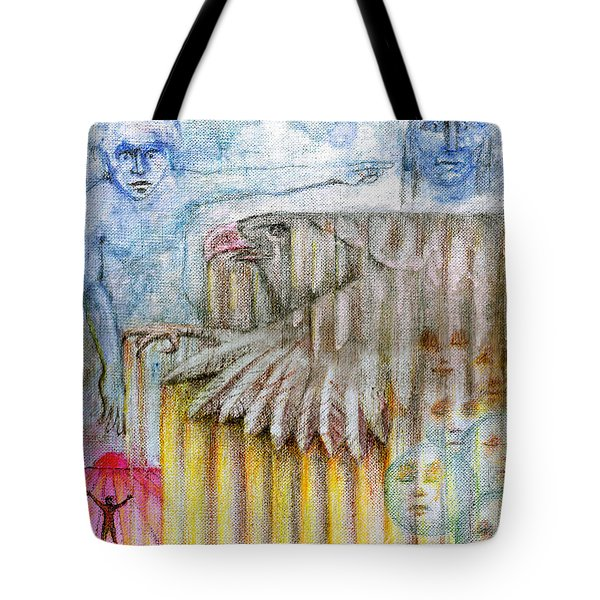 Separate Reality 3 Tote Bag by Jim Rehlin