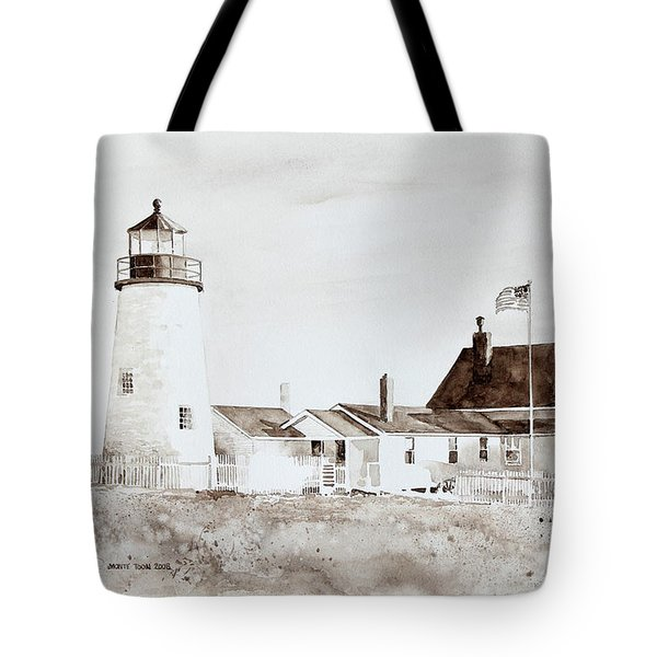 Sepia Afternoon Tote Bag by Monte Toon