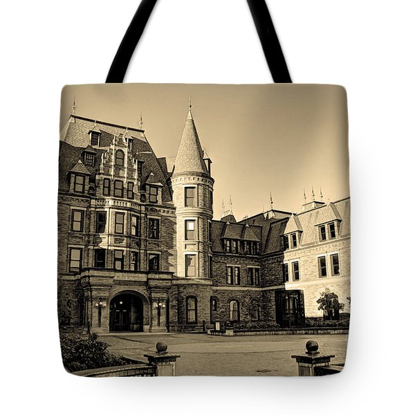 Sepia High Tote Bag by Chris Anderson