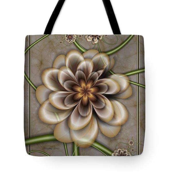 Sepia In Nature Tote Bag