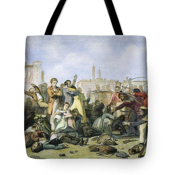 Sepoy Mutiny, 1857 Tote Bag by Granger