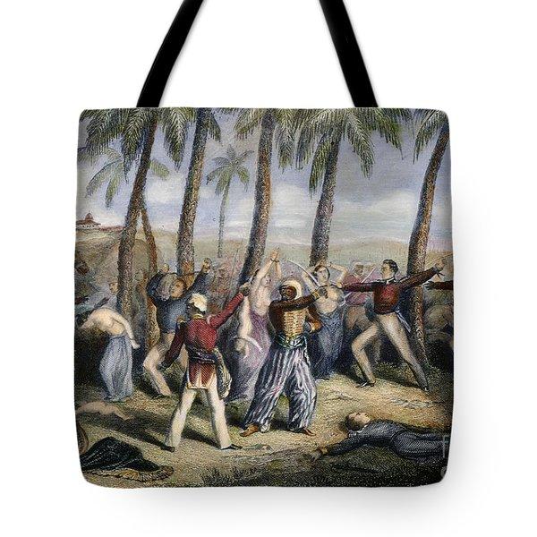 Sepoy Rebellion Tote Bag by Granger