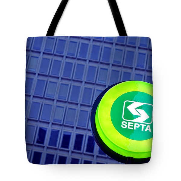 Septa Sign Tote Bag
