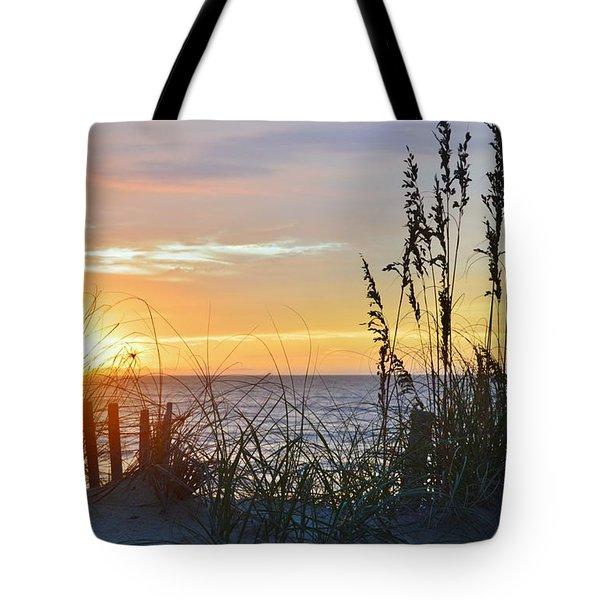 September 27th Obx Sunrise Tote Bag
