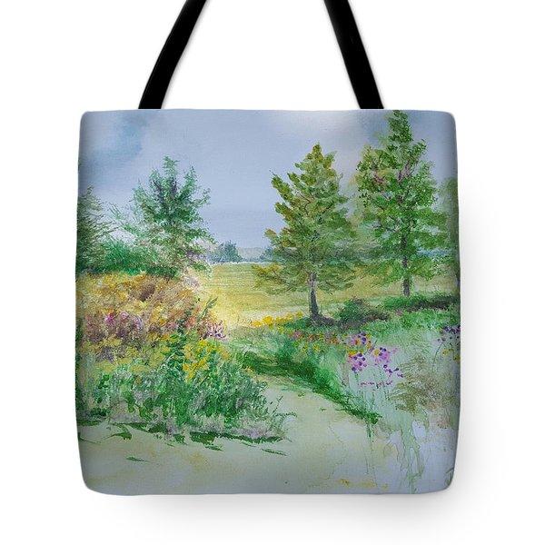 September At Kickapoo Creek Park Tote Bag