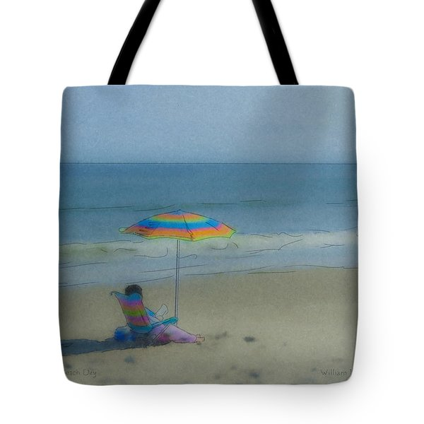 September Beach Reader Tote Bag