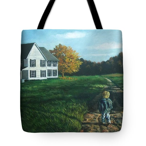 September Breeze Number 4 Tote Bag
