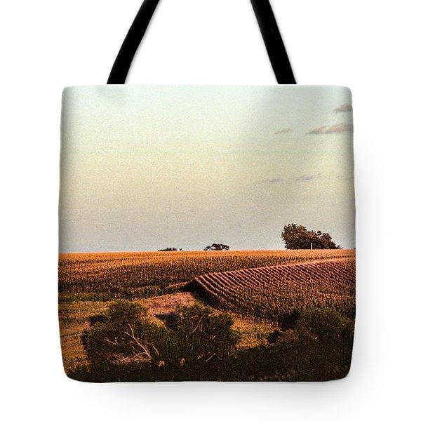 September Fields In Iowa Tote Bag