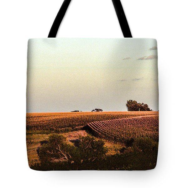 September Fields In Iowa Tote Bag