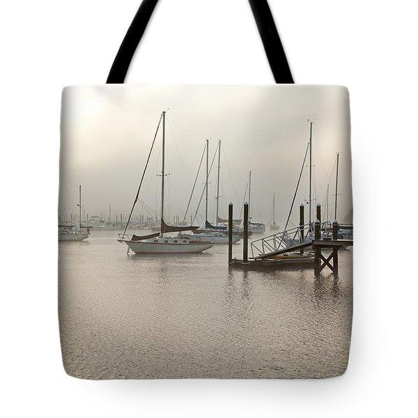 September Fog I Tote Bag by Butch Lombardi