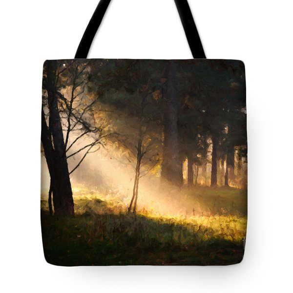 September Impressions Tote Bag