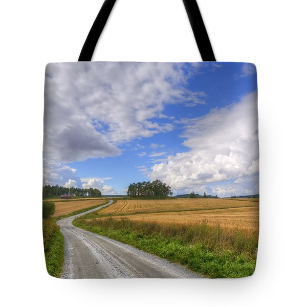 September In The Countryside Tote Bag