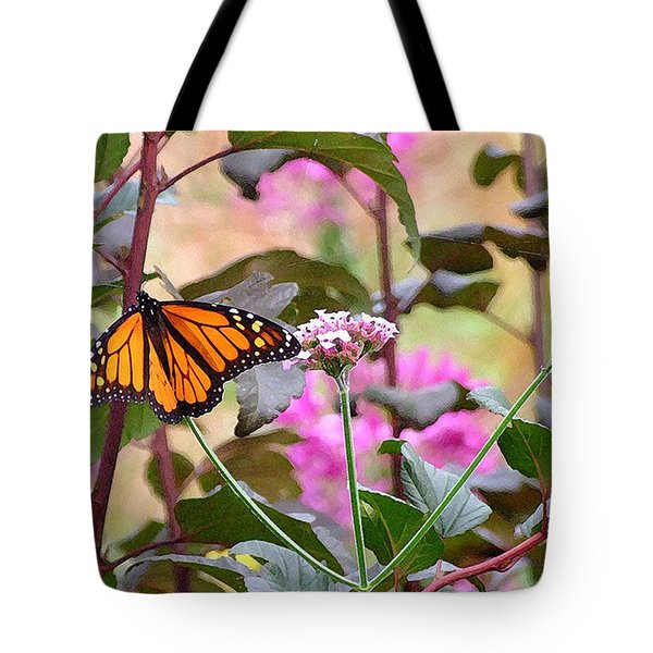 September Monarch Tote Bag